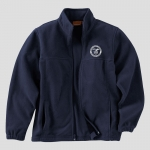 Harriton 8 oz. Full-Zip Fleece Jacket